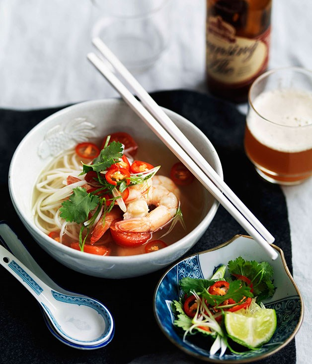**** **Prawn tom yum soup**    [View Recipe](http://gourmettraveller.com.au/prawn-tom-yum-soup.htm)