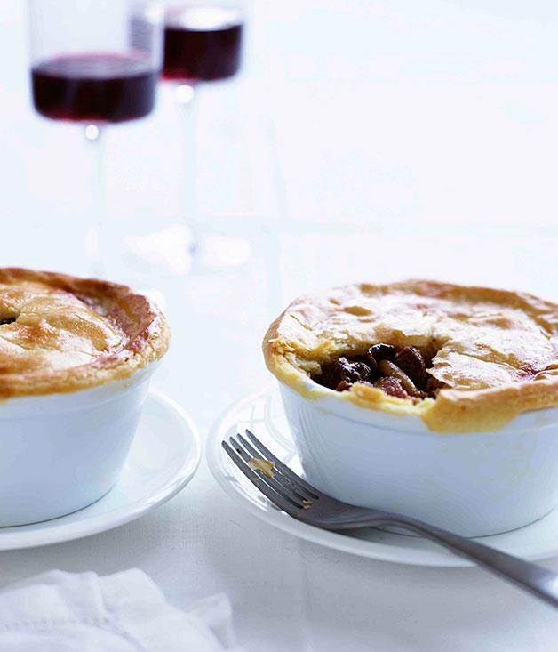 "**[Marco Pierre White's game pie](https://www.gourmettraveller.com.au/recipes/chefs-recipes/game-pie-7833|target=""_blank"")**"