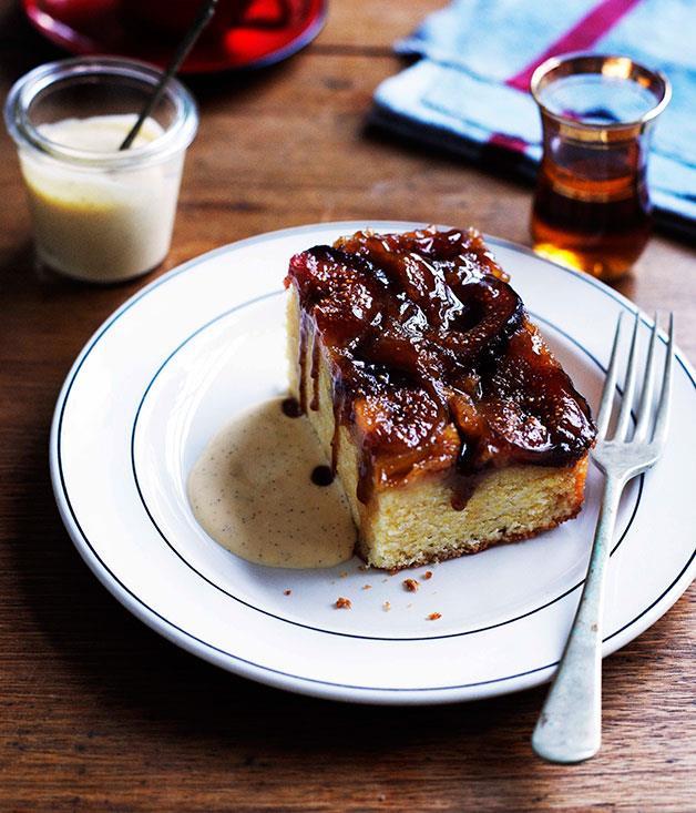 "[**Whatever upside-down cake**](http://www.gourmettraveller.com.au/whatever-upside-down-cake-.htm|target=""_blank"")"