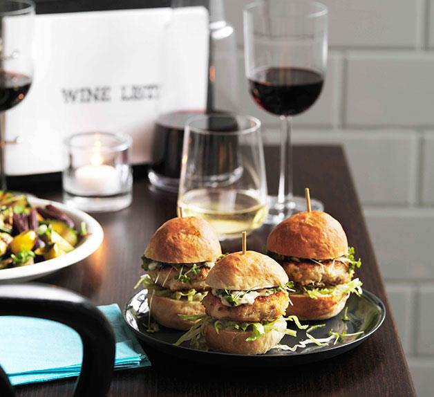 10 William Street: Monkfish sliders