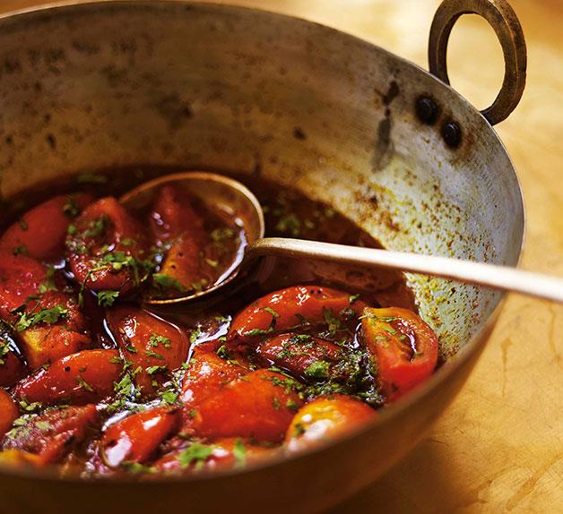 Christine Manfield: Sweet-and-sour tomatoes