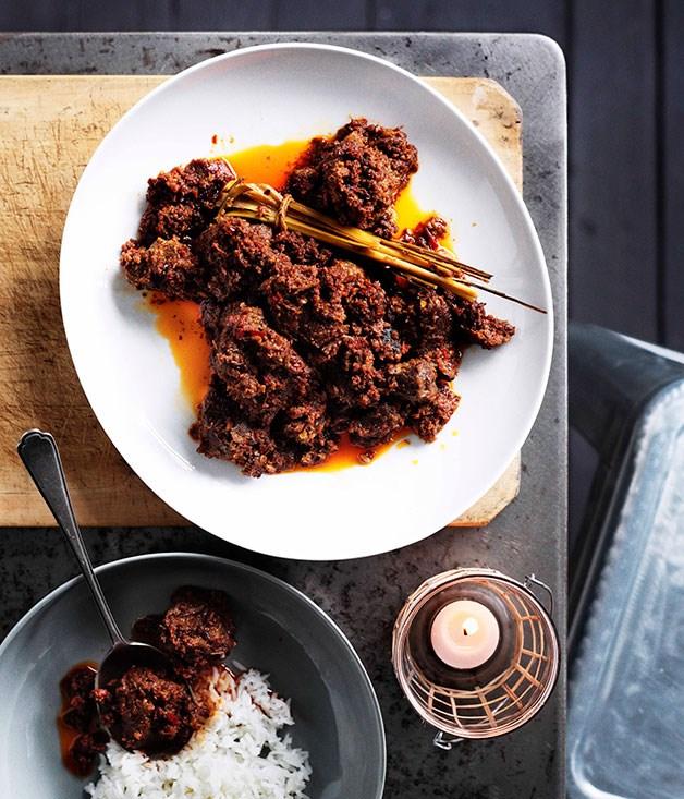 **Beef rendang** **Beef rendang**    [View Recipe](http://gourmettraveller.com.au/beef-rendang.htm)     PHOTOGRAPH **BEN DEARNLEY**