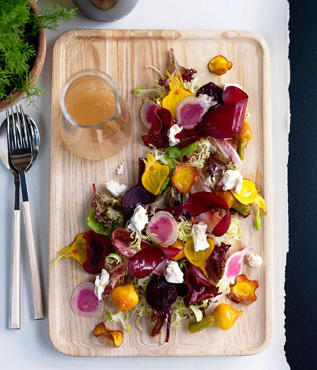 Shannon Bennett: Textures of beetroot with feta