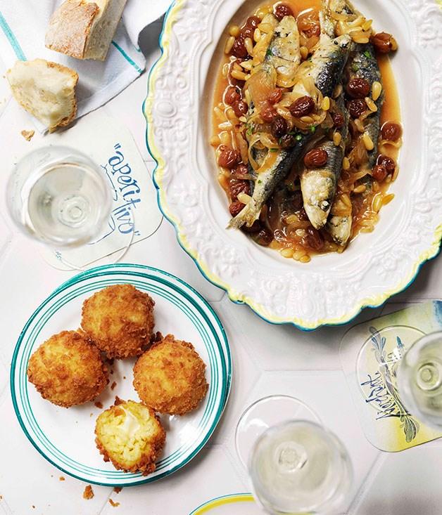 Guy Grossi: Sarde in saor (Soused sardines)