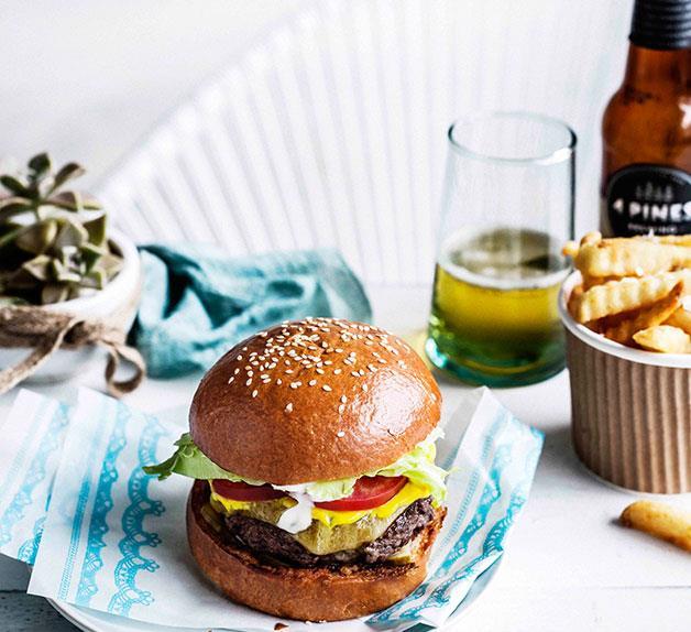 Classic Huxtaburger