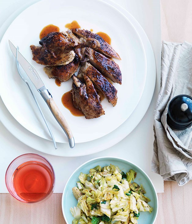 **** **Braised duck**    [View Recipe](http://gourmettraveller.com.au/braised-duck.htm)