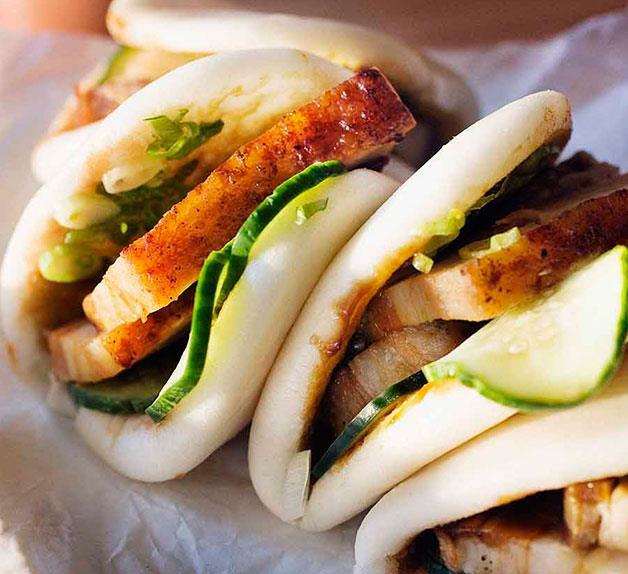 Momofuku's steamed buns