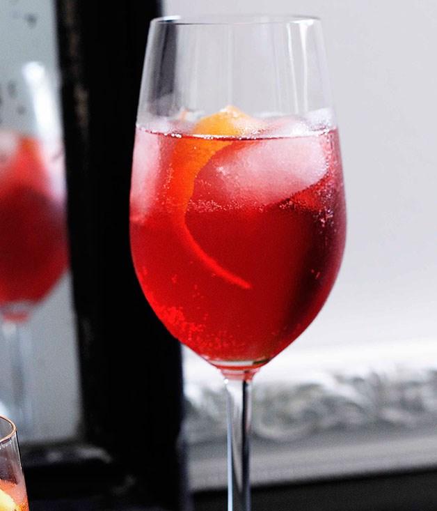 **Negioroni** **Negioroni**    [View Recipe](http://gourmettraveller.com.au/negioroni.htm)     PHOTOGRAPH **BEN DEARNLEY**