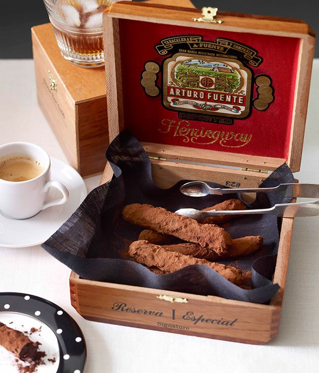**Chocolate Cuban cigars**