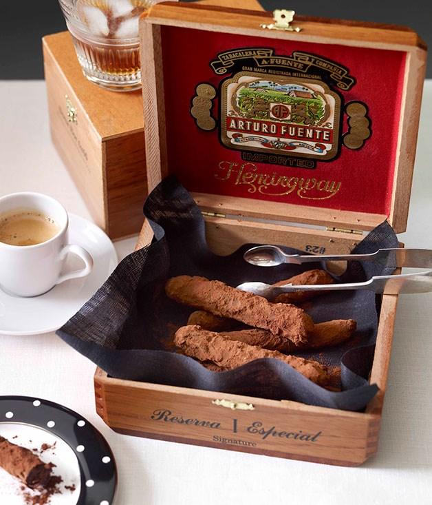 Ian Curley: Chocolate Cuban cigars