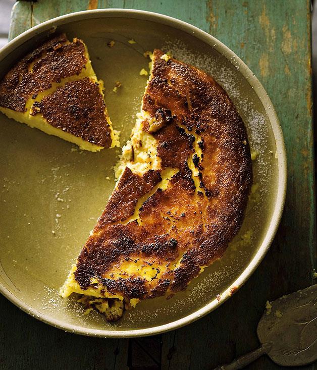 "**[Frank Camorra's tarta de queso (cheesecake)](https://www.gourmettraveller.com.au/recipes/chefs-recipes/frank-camorra-tarta-de-queso-cheesecake-7373 target=""_blank"" rel=""nofollow"")**"