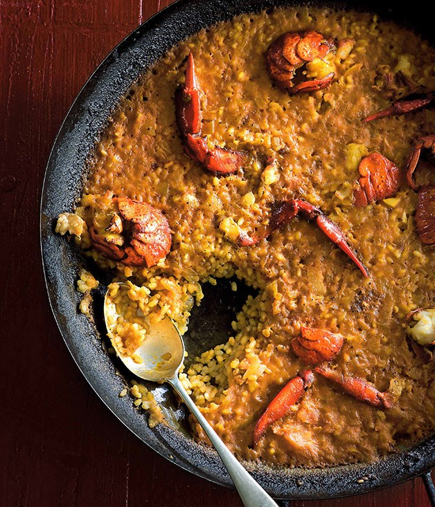 Frank Camorra: Arroz con bogavante (Rice with crayfish)