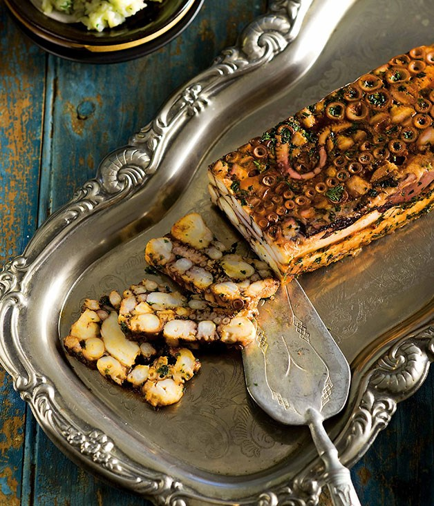 **Terrina de pulpo (Octopus terrine)**