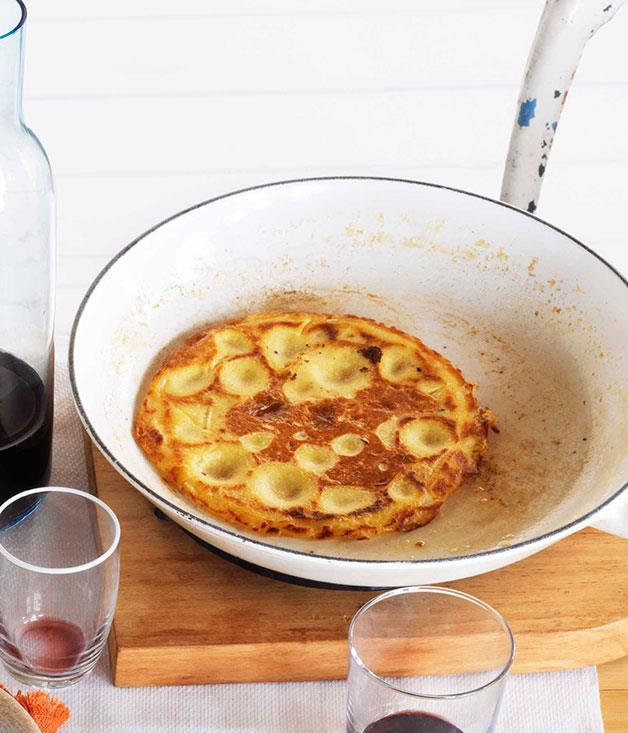 "**[Mark Best's chickpea pancakes](https://www.gourmettraveller.com.au/recipes/chefs-recipes/mark-best-chickpea-pancakes-7384|target=""_blank"")**"
