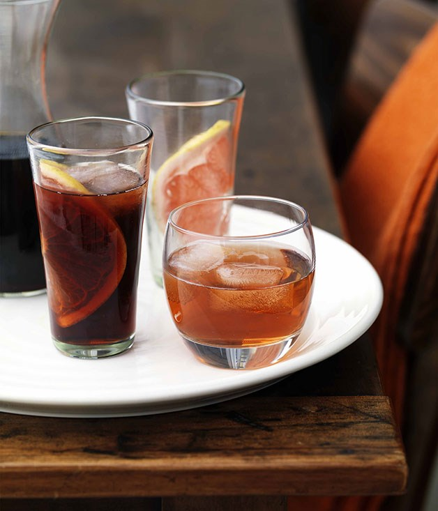 **Sloe Motion and Sloe Down** **Sloe Motion (Sloe Negroni)**    [View Recipe](http://www.gourmettraveller.com.au/sloe-motion-sloe-negroni.htm)     **Sloe Down**    [View Recipe](http://www.gourmettraveller.com.au/james-hird-and-todd-garratt-sloe-down.htm)     PHOTOGRAPH **WILLIAM MEPPEM**