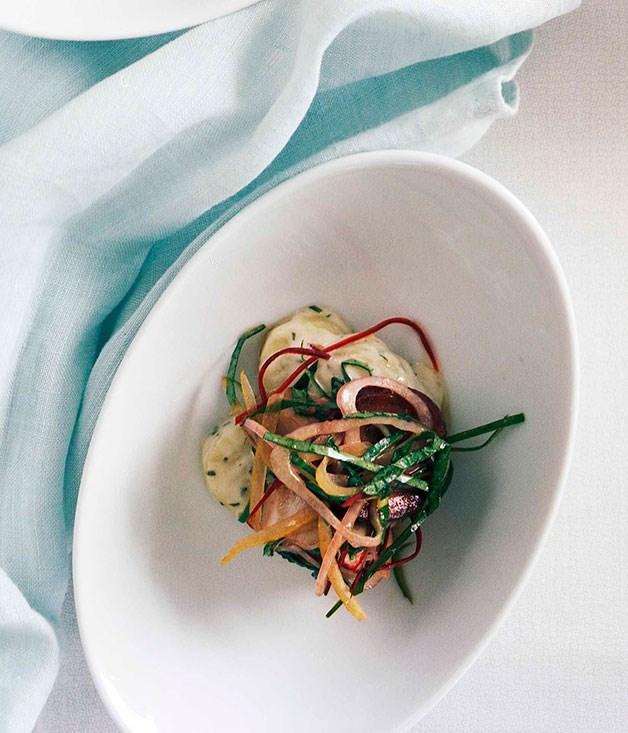 Octopus salad with chorizo and kipfler potatoes