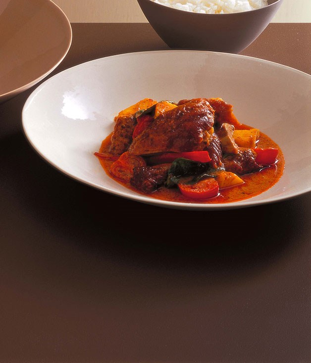 Neil Perry: Red curry of duck and pineapple