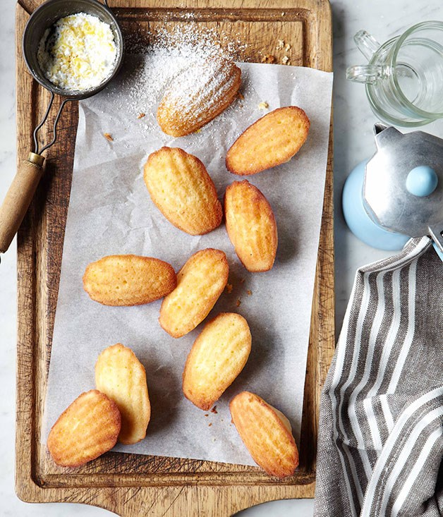 **Madeleines with lemon sugar** **Madeleines with lemon sugar**    [View Recipe](http://gourmettraveller.com.au/madeleines-with-lemon-sugar.htm)     PHOTOGRAPH **VANESSA LEVIS**