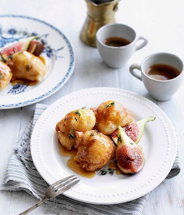 **Loukoumades** **Loukoumades**    [View Recipe](http://www.gourmettraveller.com.au/loukoumades.htm)
