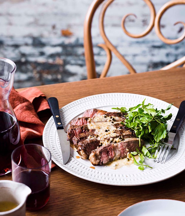 **** **Steak Diane**    [View Recipe](http://gourmettraveller.com.au/steak-diane.htm)