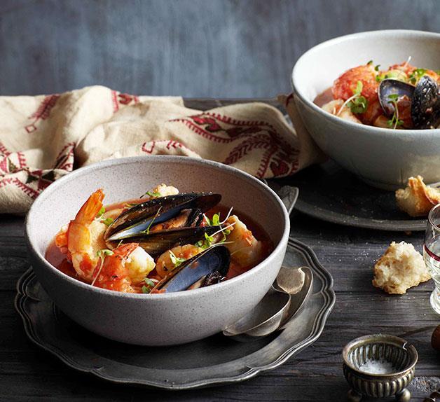 Zuppa di pesce alla Romana