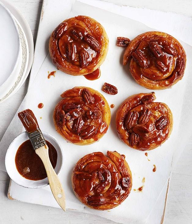 **Pecan sticky buns** **Pecan sticky buns**    [View Recipe](http://gourmettraveller.com.au/pecan-sticky-buns.htm)     PHOTOGRAPH **VANESSA LEVIS**