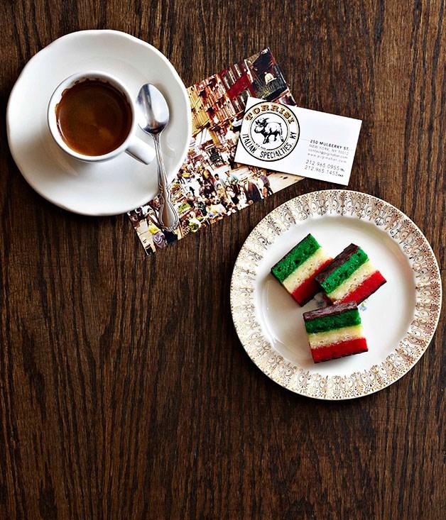 Tricolour cookies