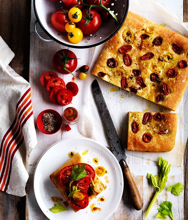 **Tomato sandwich with celery salt and Tabasco**