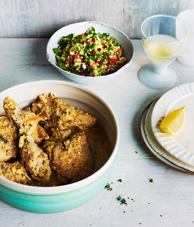 **Baked chicken with yoghurt** **Baked chicken with yoghurt**    [View Recipe](http://www.gourmettraveller.com.au/baked-chicken-with-yoghurt.htm)