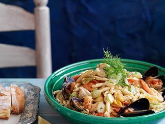 Fisherman's pasta