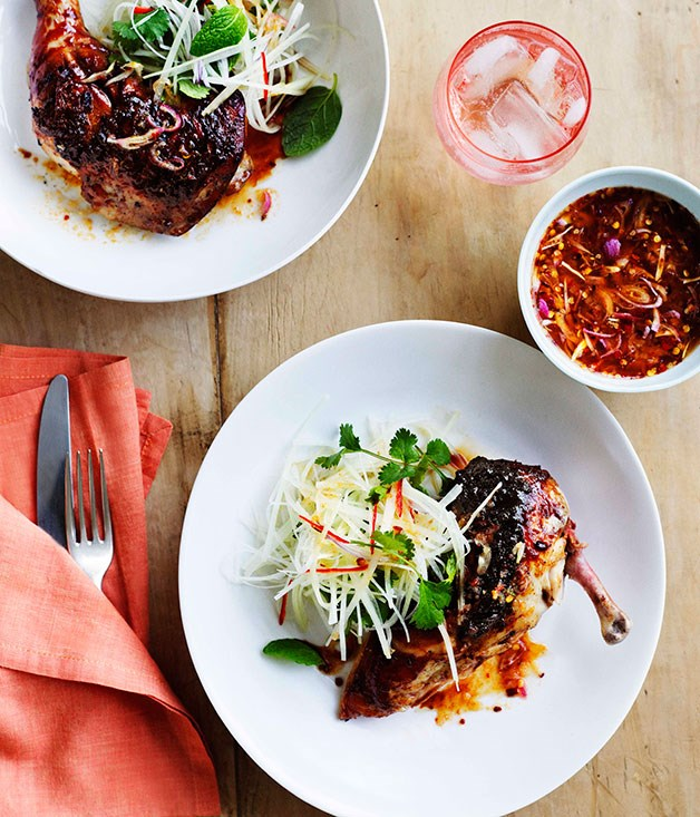 **Char-grilled palm-sugar chicken** **Char-grilled palm-sugar chicken**    [View Recipe](http://www.gourmettraveller.com.au/char-grilled-palm-sugar-chicken.htm)