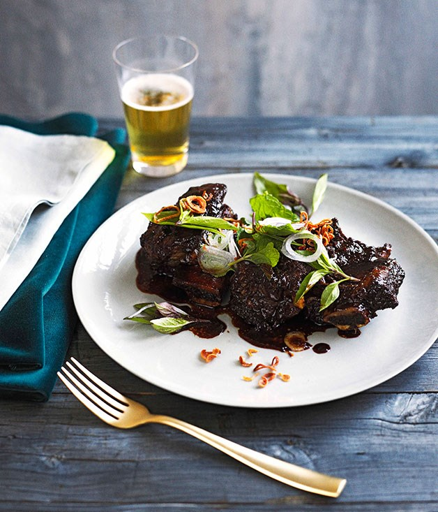 **Lemongrass and tamarind beef ribs**