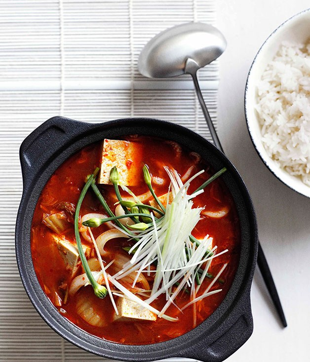 **Kimchi jjigae**
