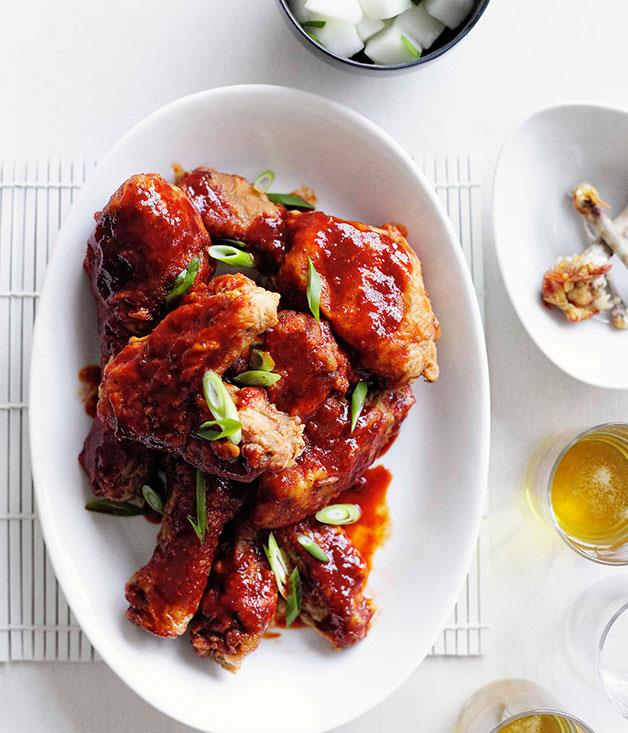 **Korean fried chicken**