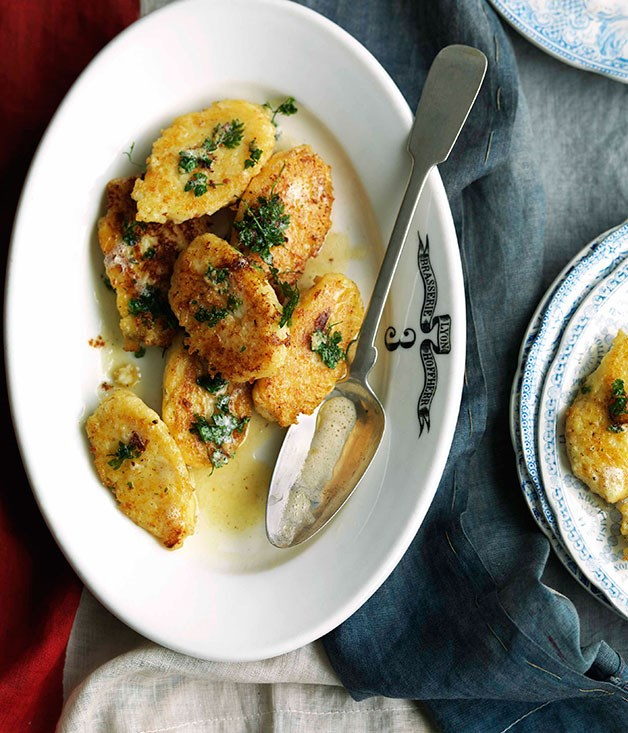 **Raviules** **Raviules**    [View Recipe](http://www.gourmettraveller.com.au/raviules.htm)     PHOTOGRAPH **WILLIAM MEPPEM**