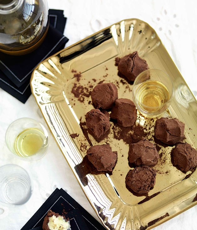 **Chocolate truffles** **Chocolate truffles**    [View Recipe](http://www.gourmettraveller.com.au/chocolate-truffles.htm)     PHOTOGRAPH **WILLIAM MEPPEM**