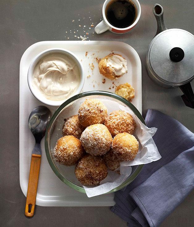 "**[Espresso zeppole with Marsala mascarpone](https://www.gourmettraveller.com.au/recipes/browse-all/espresso-zeppole-with-marsala-mascarpone-10723 target=""_blank"")**"