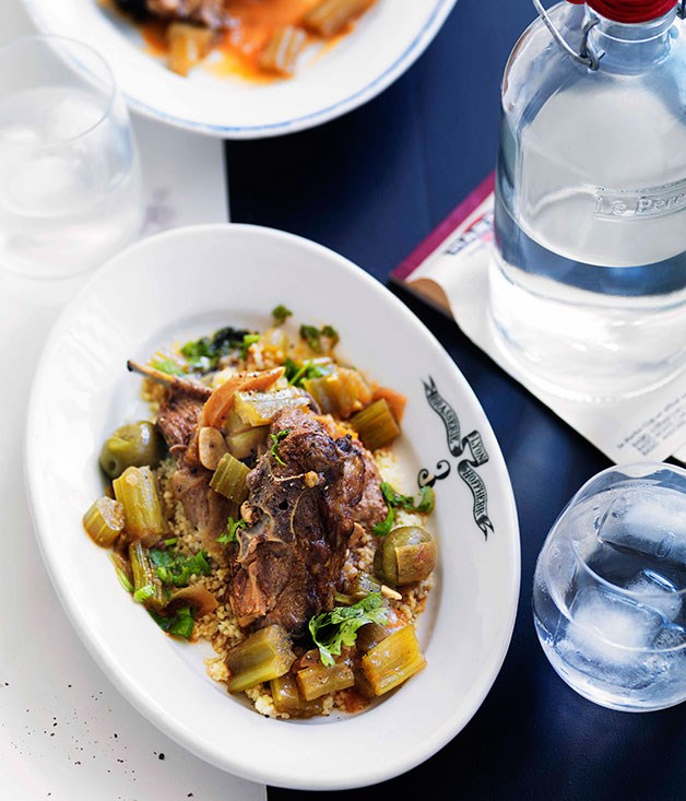 **Moroccan braised lamb neck** **Moroccan braised lamb neck**    [View Recipe](http://gourmettraveller.com.au/moroccan-braised-lamb-neck.htm)     PHOTOGRAPH **WILLIAM MEPPEM**