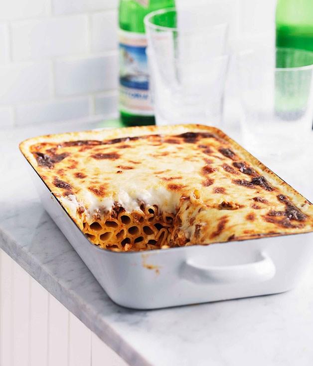 **Pasticcio** **Pasticcio**    [View Recipe](http://gourmettraveller.com.au/pasticcio.htm)     PHOTOGRAPH **WILLIAM MEPPEM**