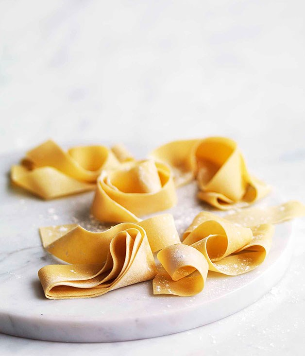 Whole-egg pasta dough