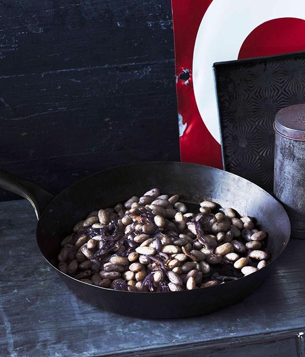 Fasoi in salsa di magro