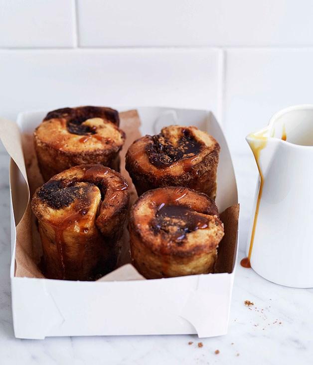 **Sticky caramel buns** **Sticky caramel buns**    [View Recipe](http://gourmettraveller.com.au/sticky-caramel-buns.htm)