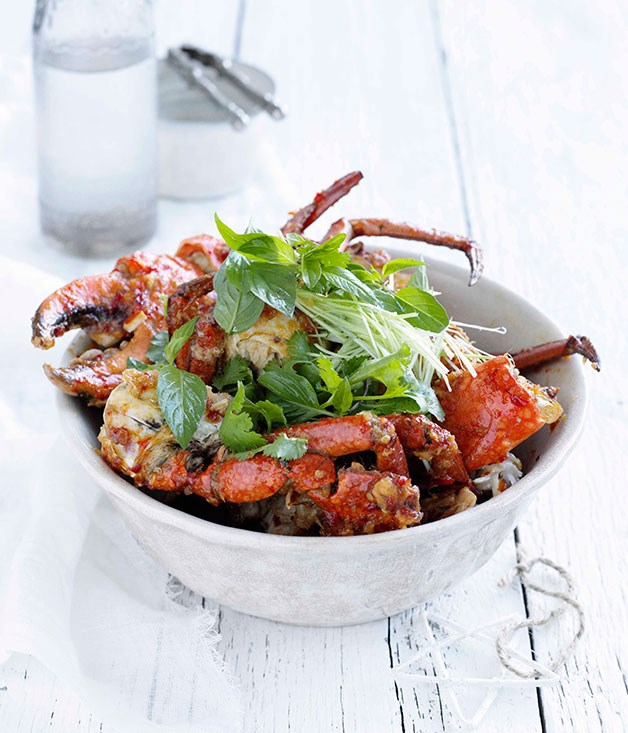 **Chilli mud crab** **Chilli mud crab**    [View Recipe](http://gourmettraveller.com.au/chilli-mud-crab.htm)     PHOTOGRAPH **BEN DEARNLEY**