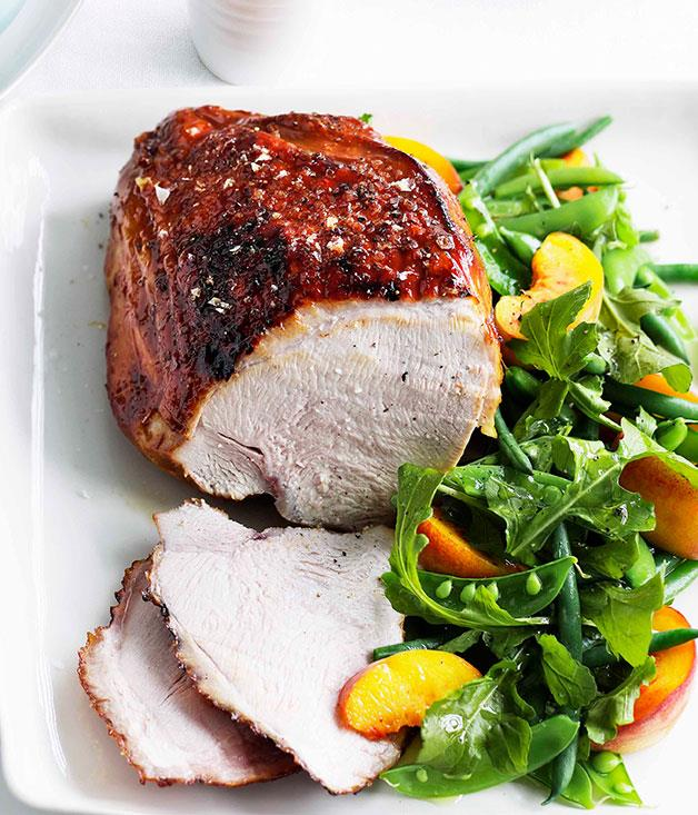 **Vincotto-glazed turkey breast with peach and green bean salad** **Vincotto-glazed turkey breast with peach and green bean salad**    [View Recipe](http://gourmettraveller.com.au/vincotto-glazed-turkey-breast-with-peach-and-green-bean-salad.htm)     PHOTOGRAPH **BEN DEARNLEY**