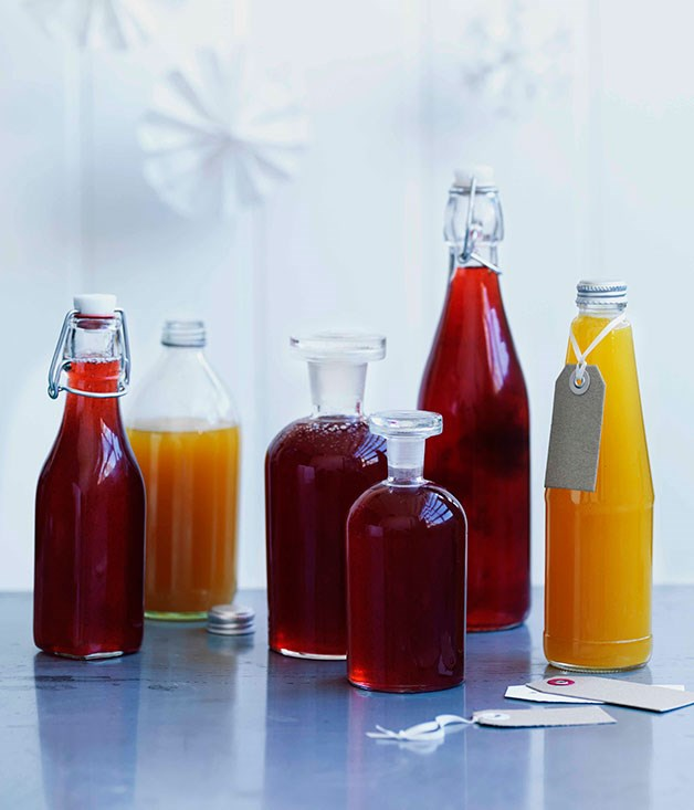 **Christmas jellies and syrups** Peach and verjuice jelly    [View Recipe](http://gourmettraveller.com.au/peach-and-verjuice-jelly.htm)     Passionfruit, mint and ginger syrup    [View Recipe](http://gourmettraveller.com.au/passionfruit-mint-and-ginger-syrup.htm)     Rose and lime syrup    [View Recipe](http://gourmettraveller.com.au/rose-and-lime-syrup.htm)