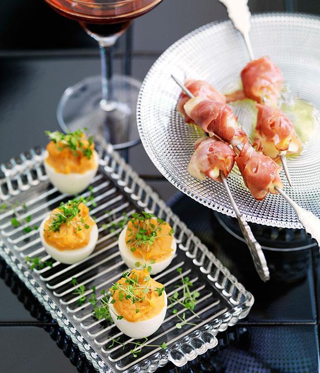 **Devilled eggs** **Devilled eggs**    [View Recipe](http://gourmettraveller.com.au/devilled-eggs.htm)     PHOTOGRAPH **WILLIAM MEPPEM**