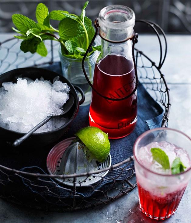 **Sparkling Strawberry Crush** **Sparkling Strawberry Crush**    [View Recipe](http://www.gourmettraveller.com.au/sparkling-strawberry-crush.htm)     PHOTOGRAPH **BEN DEARNLEY**