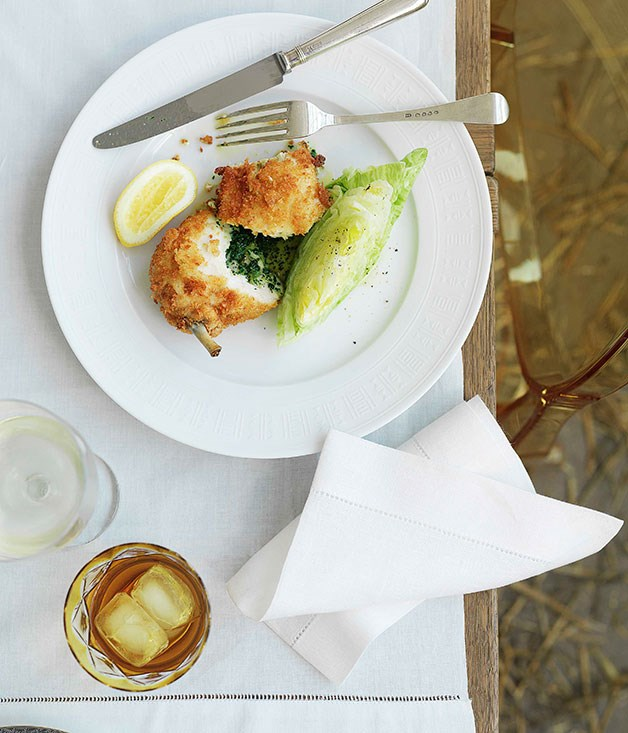 **Chicken Kiev** **Chicken Kiev**    [View Recipe](http://gourmettraveller.com.au/chicken-kiev.htm)     PHOTOGRAPH **WILLIAM MEPPEM**