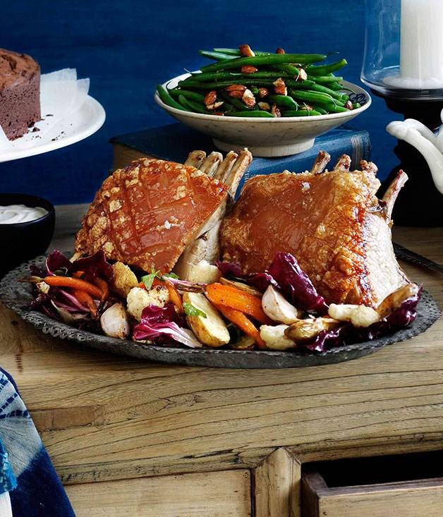 **Roast pork and winter vegetable salad** **Roast pork and winter vegetable salad**    [View Recipe](http://gourmettraveller.com.au/roast-pork-and-winter-vegetable-salad.htm)     PHOTOGRAPH **BEN DEARNLEY**