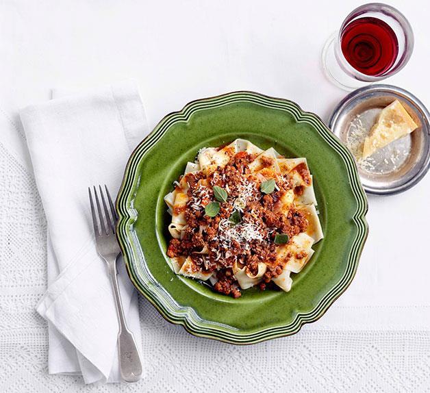 Chef's spaghetti Bolognese recipes: L to Z